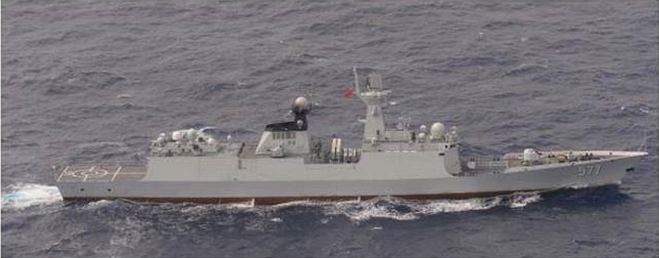 """解放军3艘军舰绕台 日本反潜机紧急升空""""监视"""""""