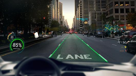 瑞士公司研发黑科技 驾驶员开车就像打游戏