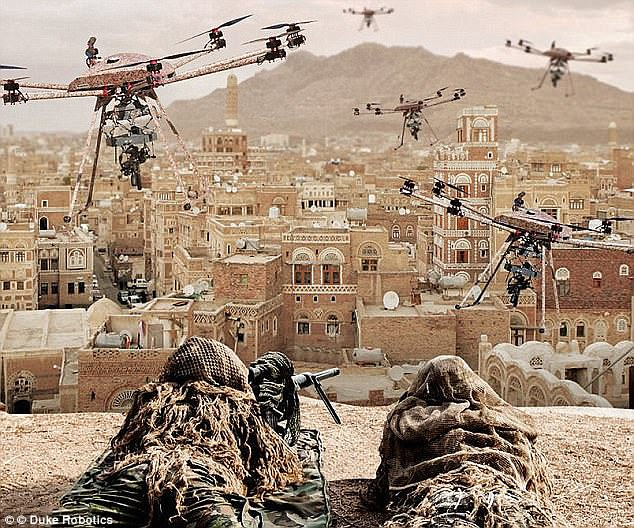 瞄准公众 国外组织或利用无人机面部识别进行暗杀