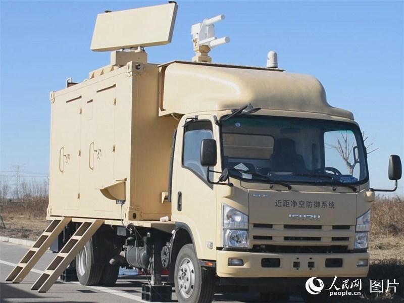 高新科技激光远程打击无人机