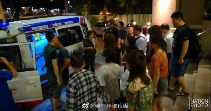 泰国酒店电梯疑因超载急速坠落 5名中国游客受伤