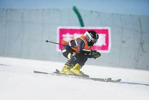 设施陈旧 渔阳国际滑雪场稍逊一筹
