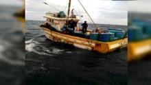 秘鲁船员遇险 舟山渔船送回