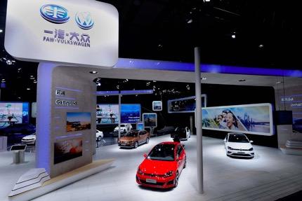 主力车型实力绽放 一汽-大众品牌闪耀广州车展