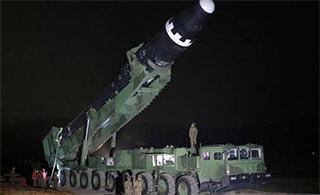 外交部回应朝鲜试射洲际弹道导弹