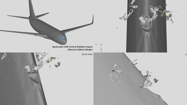 美空管局:飞机撞上无人机比撞鸟更危险
