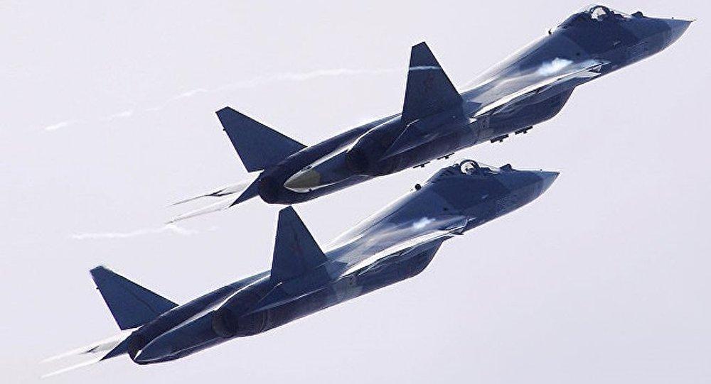 俄媒:苏57战机明年交付部队 能携带10枚导弹