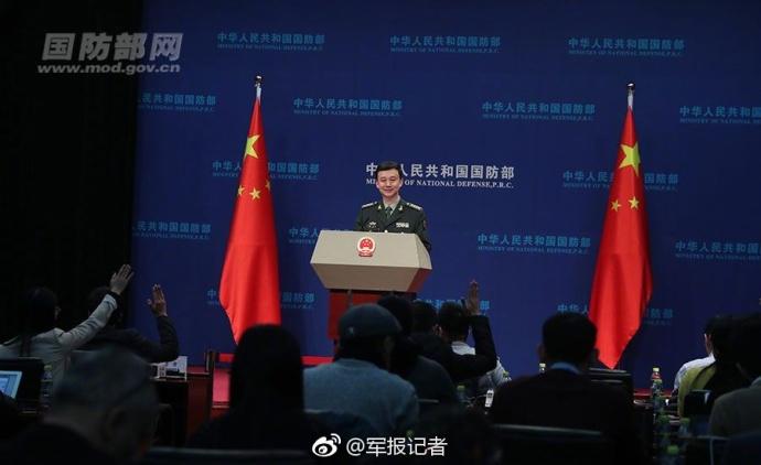 国防部发言人吴谦回应网上涉军谣言