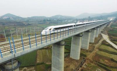 """西成高铁""""织""""网33公里护朱鹮""""过路"""""""
