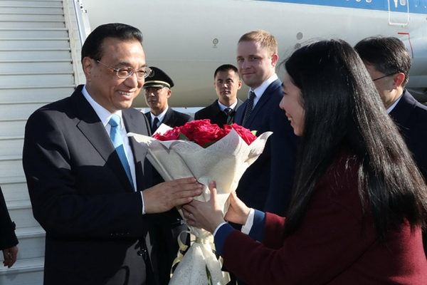 李克强总理出访图集(2017年11月30日)