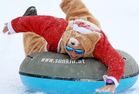 专业大比拼!瑞士举行圣诞老人世锦赛