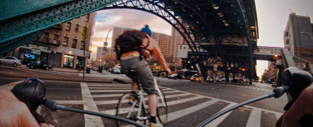 骑车转纽约