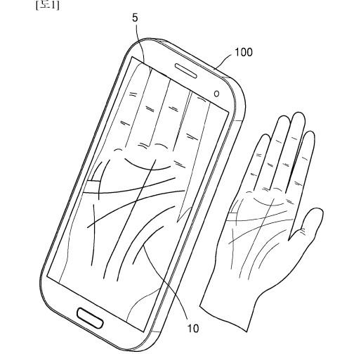 总忘记密码?三星新专利运用掌纹扫描技术来解锁