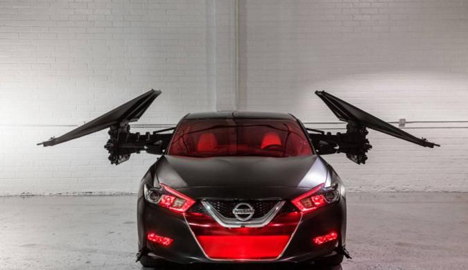 视觉盛宴 日产6款星战主题概念车亮相洛杉矶车展