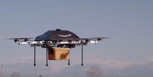 亚马逊获新专利 无人机遇到危险会自动拆解