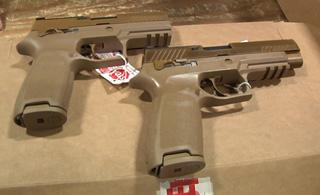 美军用上模块化手枪 王牌部队101空降师率先接装
