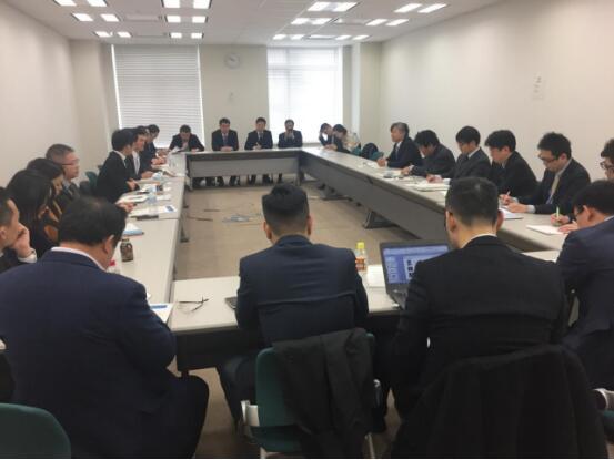 中业兴融作为市互金协会代表赴日本考察