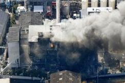 日本富士化工厂发生爆炸 至少1死10伤
