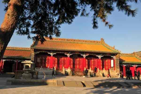 """沈阳故宫""""金銮殿""""修复后重新开放"""