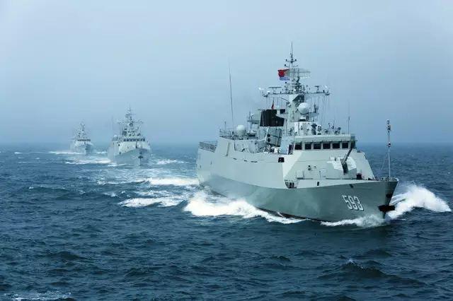 美媒:中国半月内入列两艘护卫舰 同型或造60艘