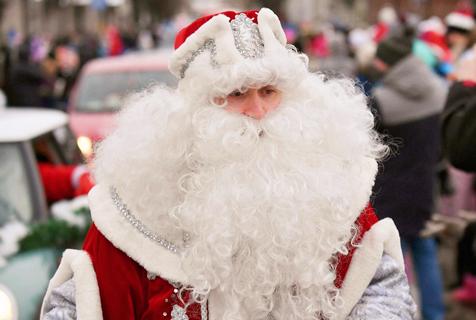 世界圣诞老人大会 白胡子老爷爷狂欢