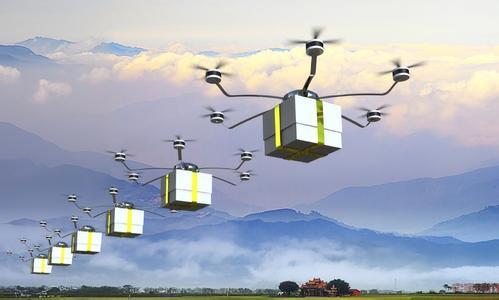 外卖机器人会爬电梯 无人机能空投炸鸡