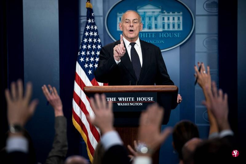 白宫幕僚长在白宫实行严格纪