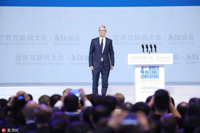 库克:中国开发者在苹果iOS平台赚得169亿美元