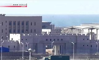 日媒偷拍中国驻吉布提补给基地