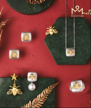 这个圣诞,陪你温暖过冬天!Mashairi推出全新Will Bee心愿系列珠宝