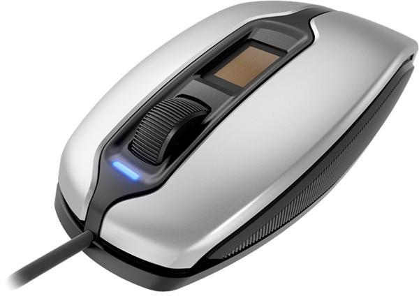 它支持Windows 10 Windows Hello功能和Windows生物框架,无需密码指纹登录,不过同时也提供SDK,可兼容macOS、Linux安全验证。   鼠标尺寸115*65*40毫米,重量约150克,银色、黑色两种风格,USB接口,线长1.8米,光学传感器精度1375 DPI,侧面有防滑脚垫。   微动开关规格未公布,估计来自樱桃自家,寿命不低于1000万次。樱桃MC 4900鼠标现已上市,价格110欧元/130美元/100英镑,约合人民币860-890元。