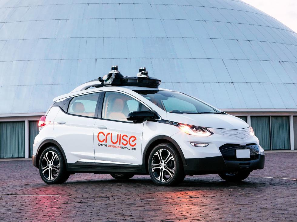 快上车!通用自主开发无人驾驶汽车首次公开试驾