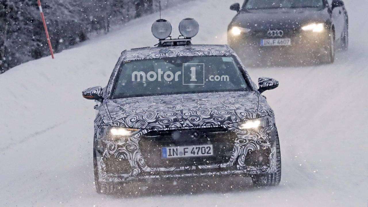 新一代奥迪A6最新谍照曝光 有望明年发布