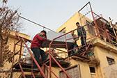 青岛600岁土豪村拆迁 房客开始搬离