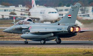 埃及再接3架阵风战机 总数达14架