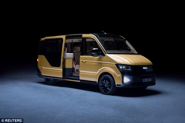 大众首发叫车服务 2025年将配备100万辆迷你巴士
