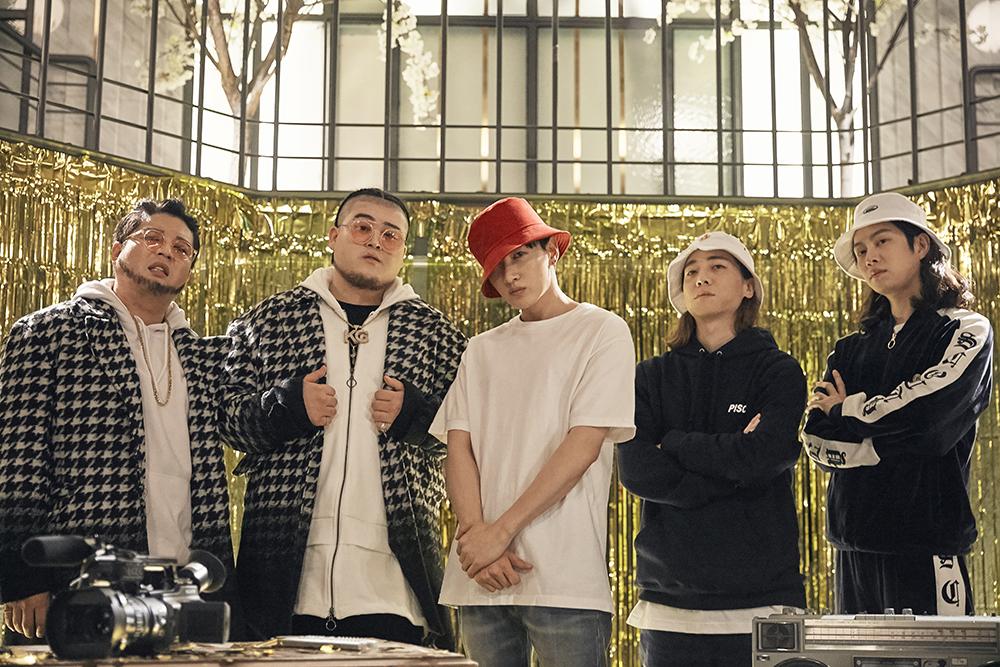 Super Junior希澈、神童、银赫 x MAMAMOO颂乐联手