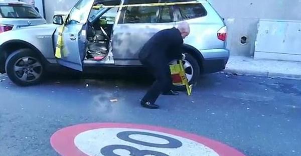 葡萄牙老人徒手掰开轮胎琐钳成功赶上航班