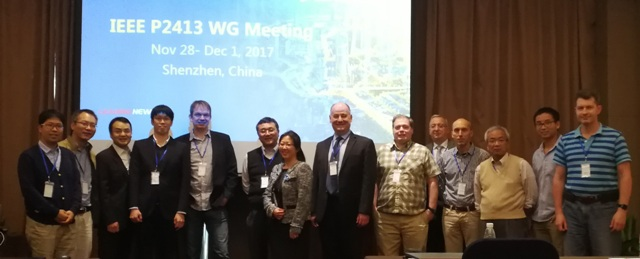 华为智慧城市架构经IEEE P2413亿万先生标准会议纳入P2413标准