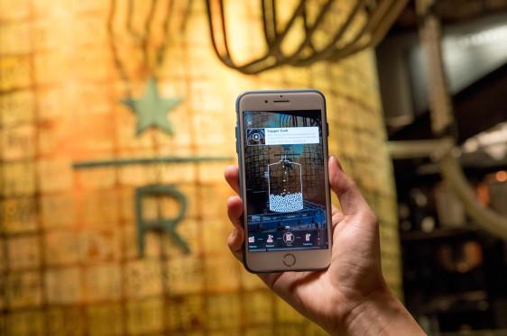 全球首次大规模商用 阿里AR识别技术落地星巴克