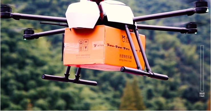 获红杉资本数千万投资 讯蚁推出首个ToC无人机物流配送服务