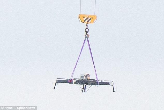 亚马逊新式无人机疑似曝光 使用复杂避障技术