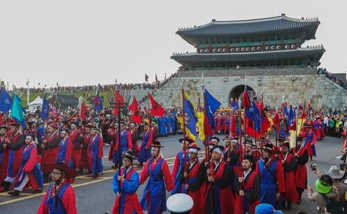 探访韩国京畿道华城 漫步古城墙感受历史沧桑