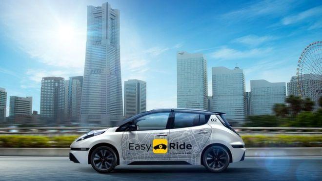 日产和游戏软件商合作 明年开测共享自动驾驶车