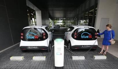 新加坡首推电动共享汽车 未来总计投放一千辆