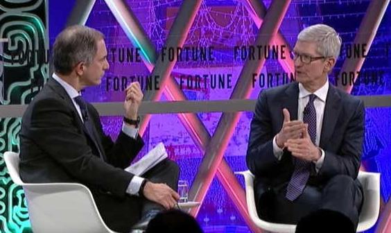 苹果CEO库克:中国最大的吸引力是人才而非市场