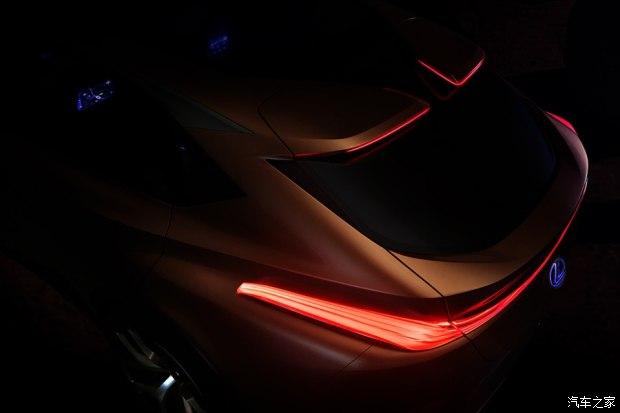 北美车展发布 雷克萨斯新跨界SUV预告