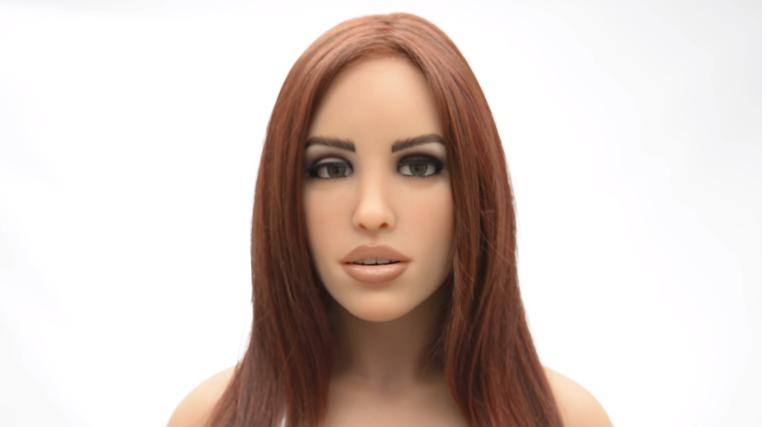 取代现实女友?来看更性感的性爱机器人Harmony
