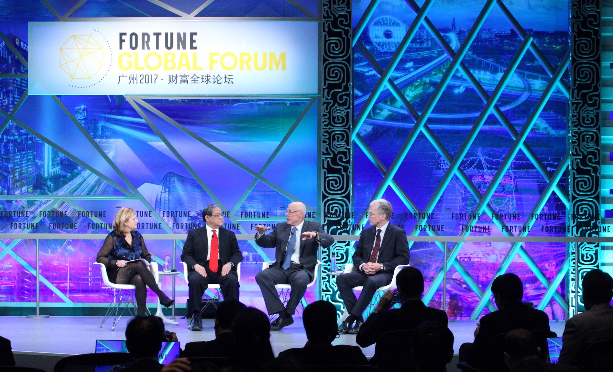 探讨开放与创新—2017广州《财富》全球论坛全体会议举行