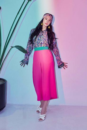 Clara克拉拉炫彩大片曝光 引领独特时尚潮流